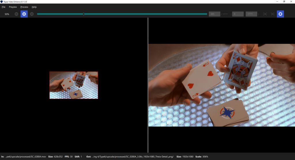 Topaz Labs Video Enhance AI
